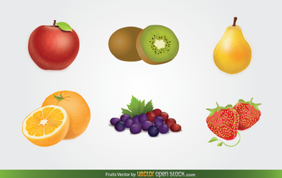 Free Fruits Vector Download