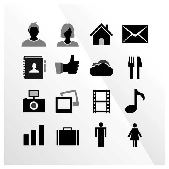 16 Free  iOS Vector Icons