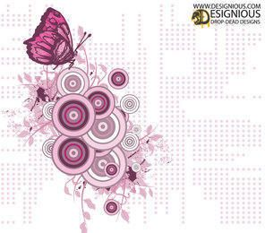 Free Butterfly Illustration Vector Design