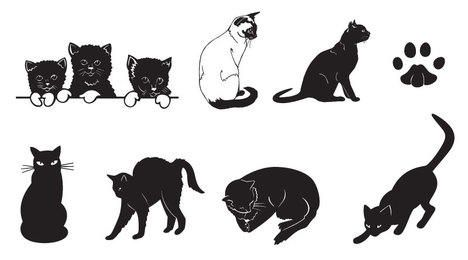 Free Vector Cats