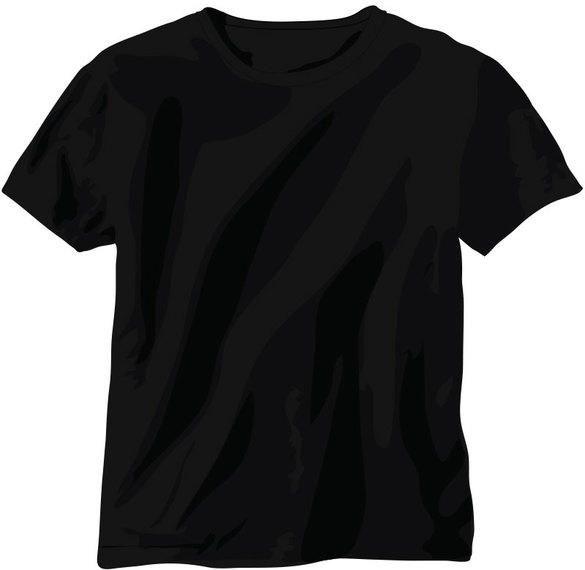 free back t shirt vector vector download rh vexels com black t shirt vector black t shirt vector psd