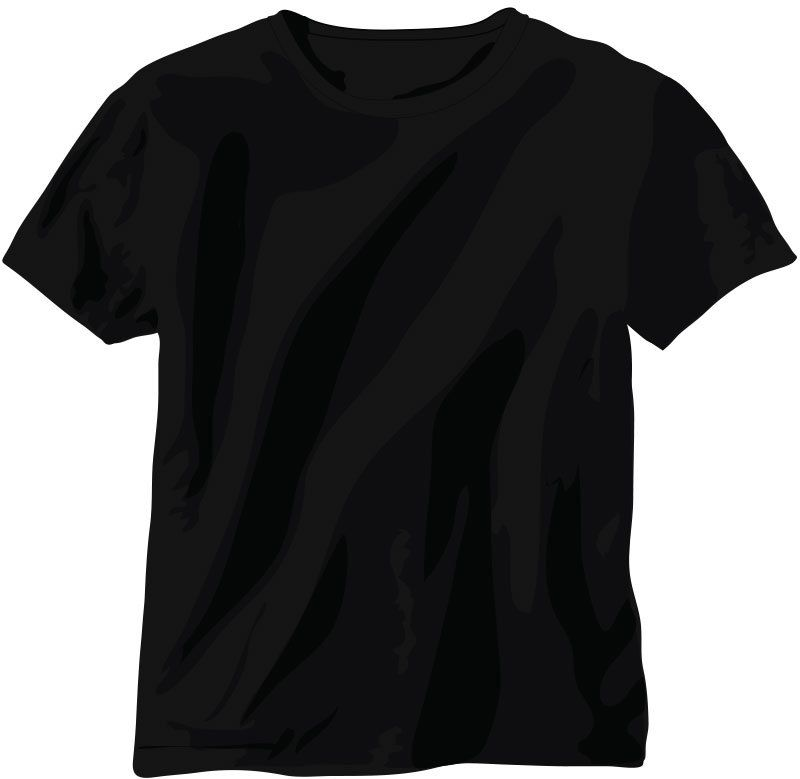 Free back t shirt vector vector download for T shirt design vector free