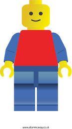Free Lego Man Vector