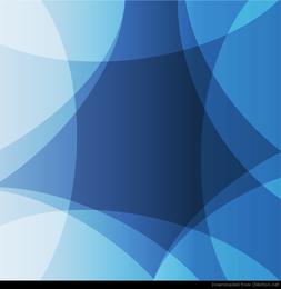 Diseño abstracto fondo azul gráfico vectorial