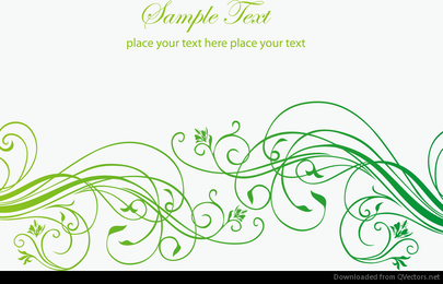 Abstrakter Blumenhintergrund mit Platz für Ihren Text