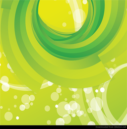 Vetor livre abstrato verde redemoinho fundo