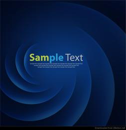 Abstracto azul suave giro gráfico vectorial