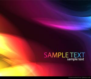 Imagem de vetor abstrato colorido