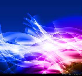 Fundo colorido abstrato Vector Design