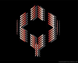 Abstrakter Form-Vektor