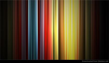 Cores abstratas do arco-íris no gráfico de vetor de fundo preto