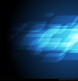 Abstract Blue Vector Art