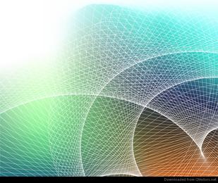 Resumen de fondo con cuadrícula de gráficos vectoriales