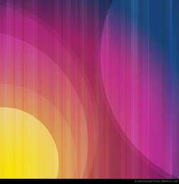 Arte de vetor abstrato colorido