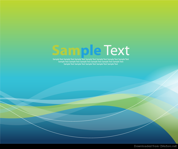 Abstract Elegant Motion Wave Vector Graphic