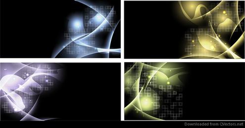 Resumen luz Vector fondo conjunto