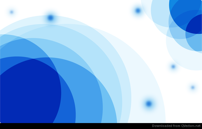 Vector Abstract Blue Card Background