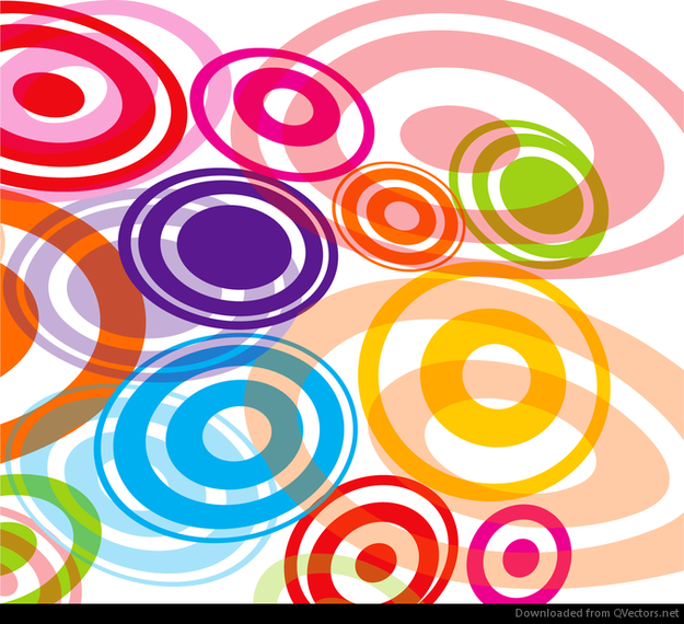 colorful circle vector graphic - photo #4