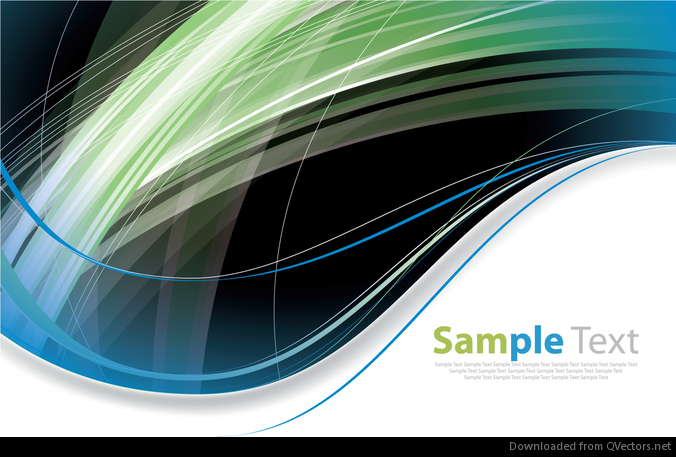 Abstract Modern Futuristic Curves Background Vector Graphic