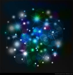 Fondo abstracto de la noche del cielo