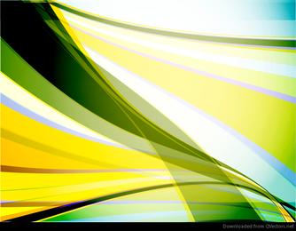 Fondo abstracto olas vectoriales