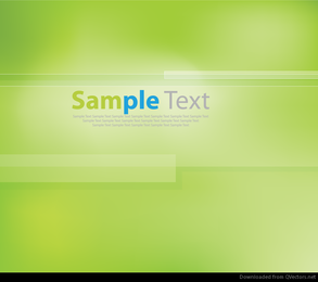 Vector Background of Abstract Green