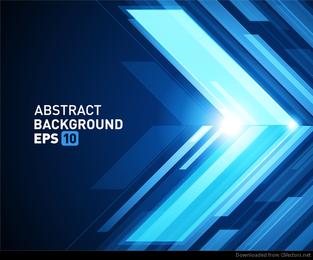 Halo dreidimensionaler abstrakter Hintergrund 04 Vektor