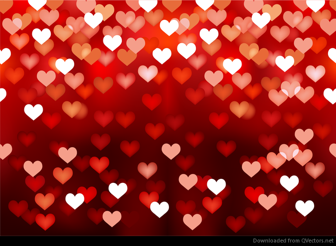 Love Wallpapers Editing : Abstract Love Heart Background - Vector download