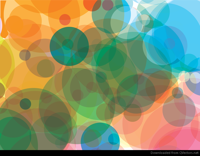 Translucent dots background
