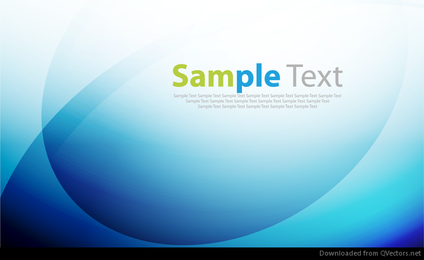 Abstract Blue Vector Background with Blur Lines and Gradient