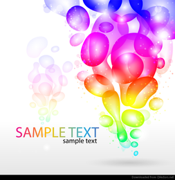 Colorful Abstract Background Vector Graphic