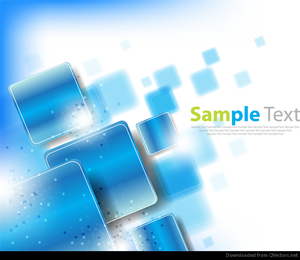 Abstract background with rounded squares