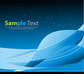 Abstract Blue Space Background Vector Graphic