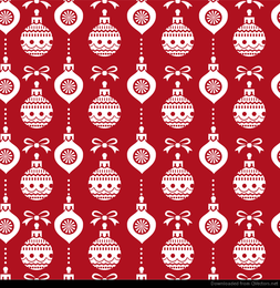 Abstract Christmas Seamless Background Vector Graphic