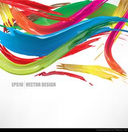 vorzüglicher dekorativer abstrakter Vektor 03