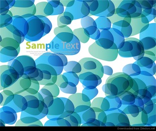 Abstract Pebble Stone Vector Background