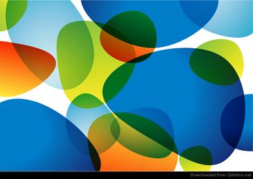 Resumen de fondo colorido gráfico vectorial ilustraciones