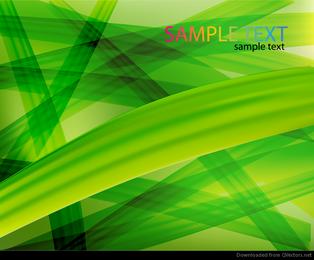 Resumen de fondo verde vectorial de arte gráfico