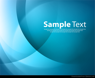 Imagem de vetor abstrato azul