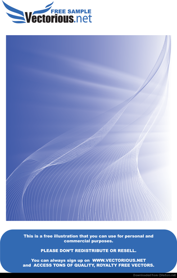Abstract blue lines backdrop design