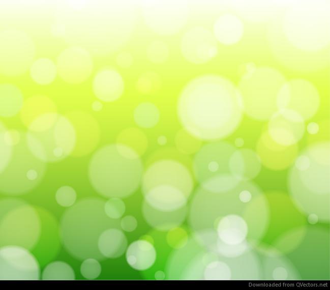Download Vector - Abstract Green Bokeh Background Vector - Vectorpicker