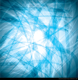 Abstract Blue Mess Vector Background