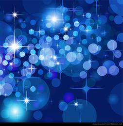 Fundo abstrato de estrelas de bokeh