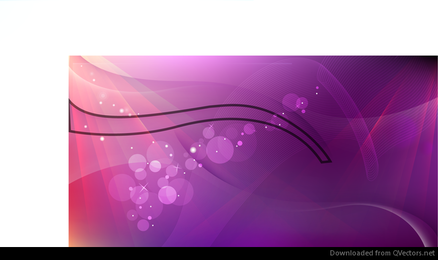 Pink Abstract Waves Vector Background