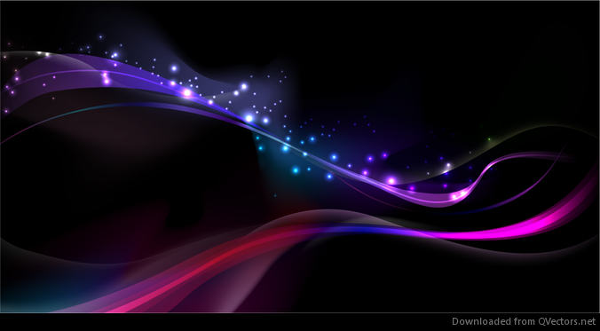 Amazing Abstract Glowing Vector Background Vector Download