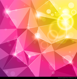 Vector de fondo abstracto de cristal