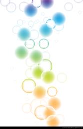 Belo bokeh abstrato de fundo vector