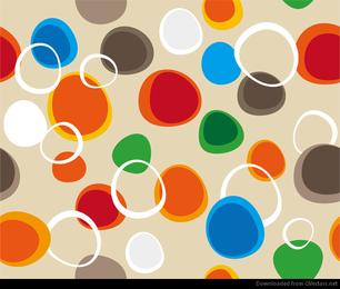 Burbujas vector abstracto fondo transparente