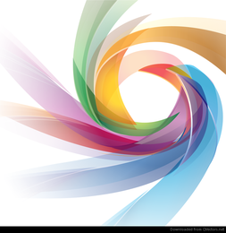 Colorful Abstract Design Vector Graphic