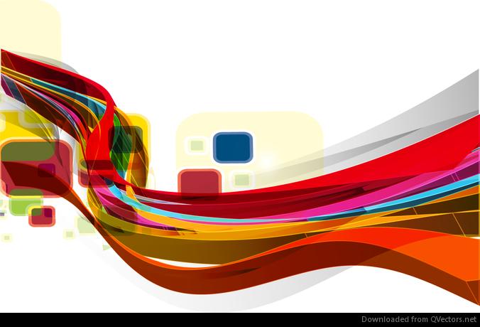 Abstract Wave Design V...